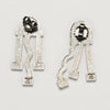 Cometa Earrings by Ettore Sottsass for Acme Studio sold by the modern archive