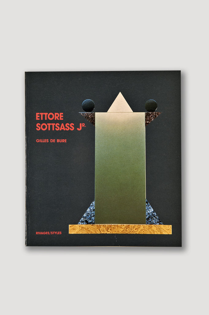 Ettore Sottsass Jr. by Giles De Bure book sold by the modern archive