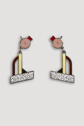 Tahiti Earrings <br/> by Ettore Sottsass