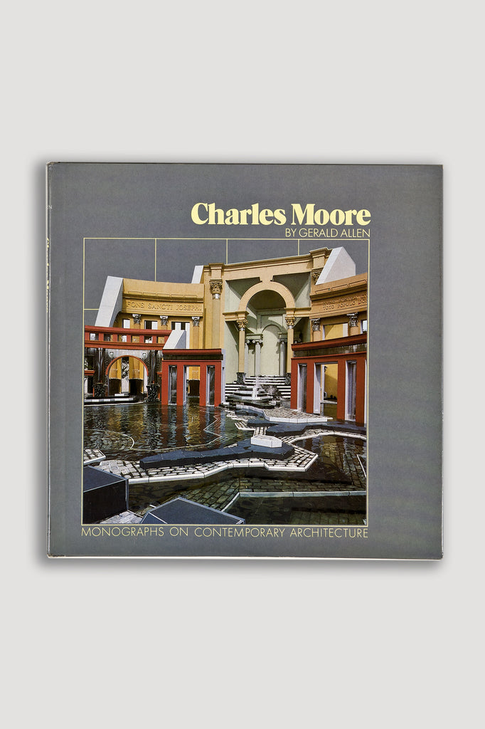 Charles Moore: Monographs on Contemporary Architecture by Gerald Allen sold by the modern archive
