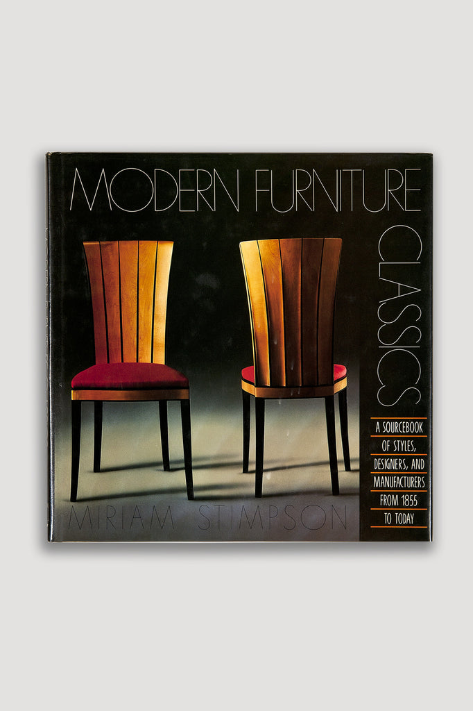 Modern Furniture Classics by Miriam Stimpson sold by the modern archive