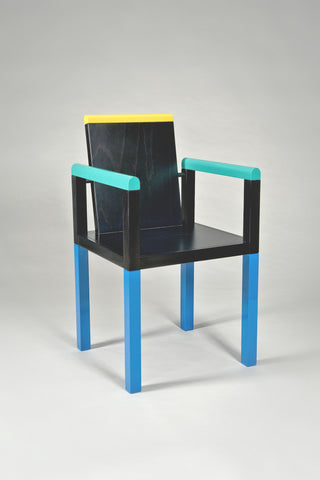 Palace Chair <br/> by George Sowden for Memphis