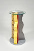 Ivory Pedestal by Ettore Sottsass for Memphis sold by the modern archive