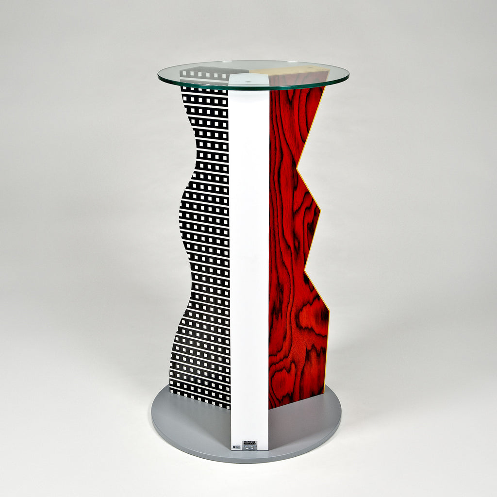 The modern archive ivory pedestal by ettore sottsass for for Memphis sottsass