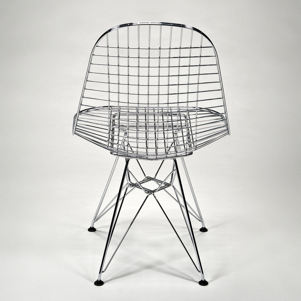 the modern archive - Wire Side Chair (DKR) by Charles and Ray Eames