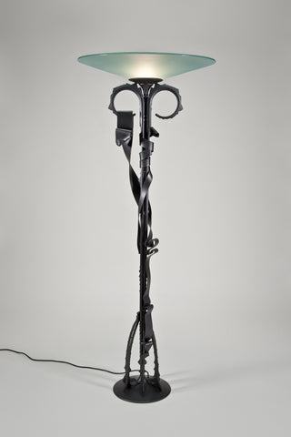 Millennium Floor Lamp <br/>by Albert Paley