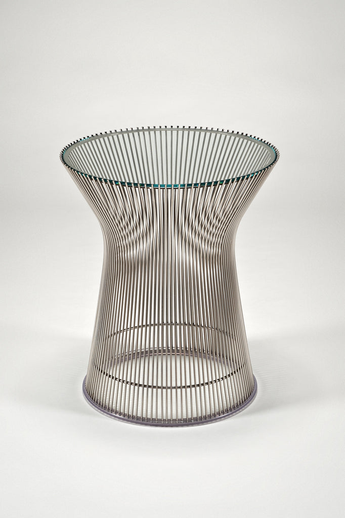 Platner Side Table by Warren Platner sold by the modern archive