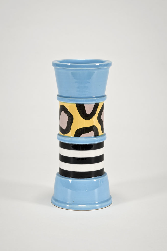 Collectors Set: Carrot Vase and Drawing by Nathalie Du Pasquier for Bloomingdale's sold by the modern archive