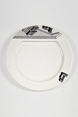 Indivia Plate for Memphis <br/> by Ettore Sottsass for Bloomingdale's