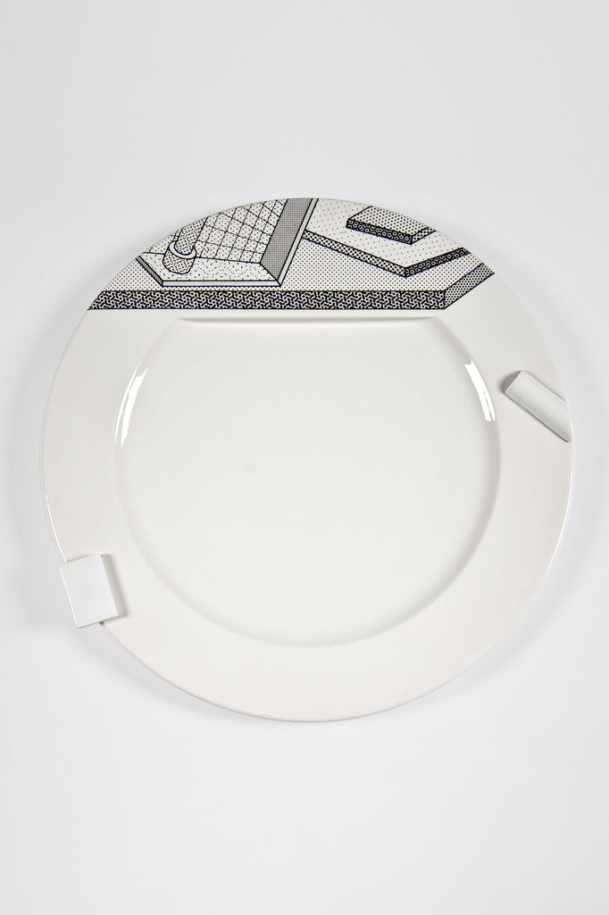 Lettuce Plate for Memphis <br/> by Ettore Sottsass for Bloomingdale's