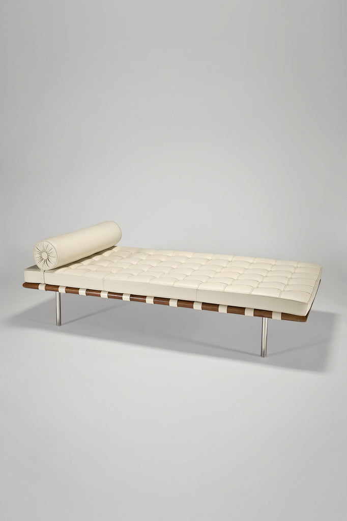 Barcelona Day Bed by Ludwig Mies van der Rohe for Knoll Studio sold by the modern archive