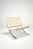 Barcelona Chair and Ottoman by Ludwig Mies van der Rohe for Knoll Studio sold by the modern archive