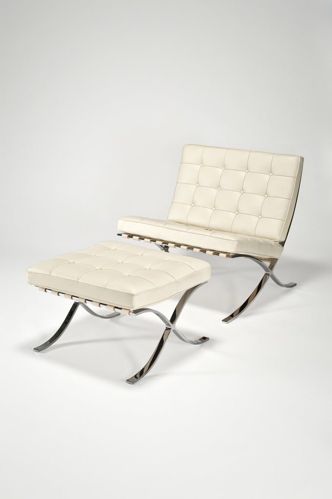 what knoll chair stool barcelona narrow special with behind makes name the
