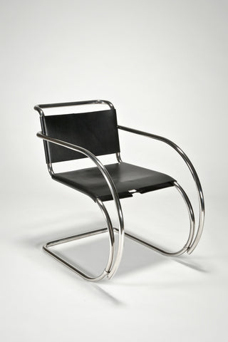MR Armchair <br/> by Ludwig Mies van der Rohe