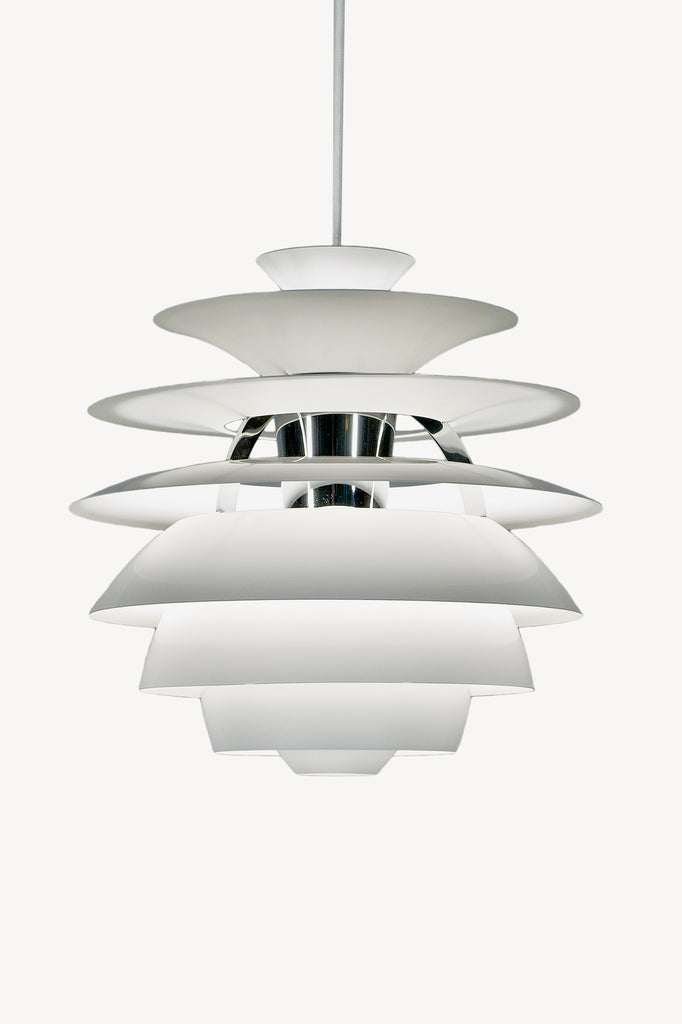 Snowball Pendant Lamp by Poul Henningsen for Louis Poulsen sold by the modern archive