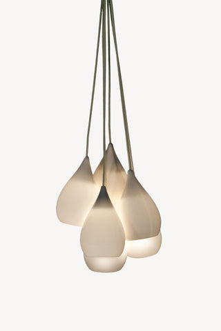 Drop One Pendant Lamp (Grouping of 6)  <br /> by Peter Bowles for Original BTC