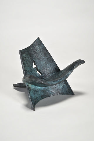 Miniature Bronze Angel Chair <br/>by Wendell Castle