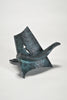 Miniature Bronze Angel Chair by Wendell Castle sold by the modern archive