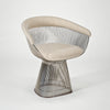 Platner Dining Table and Chairs by Warren Platner for Knoll sold by the modern archive