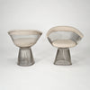 Platner Armchairs by Warren Platner for Knoll sold by the modern archive