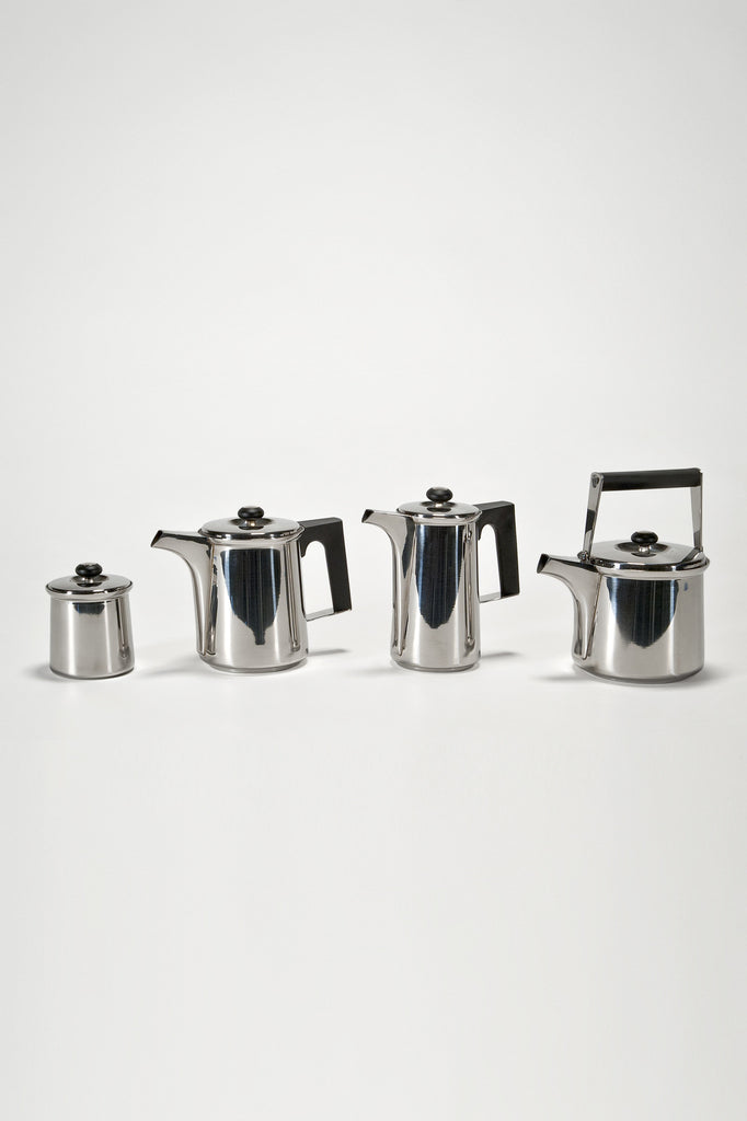 Finlandia Coffee & Tea Service by Tapio & Sami Wirkkala for Serafino Zani sold by the modern archive