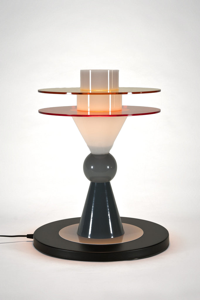 Bay Lamp by Ettore Sottsass for Memphis sold by the modern archive