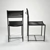 Spaghetti Side Chair in Black by Giandomenico Belotti sold by the modern archive