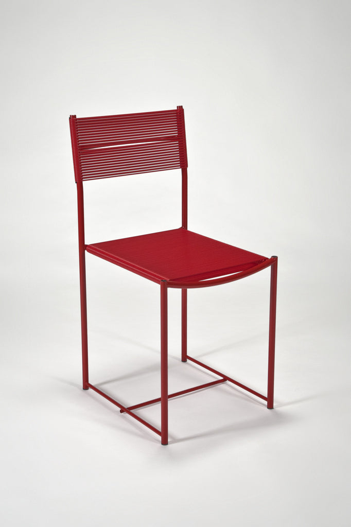 Spaghetti Side Chair -Red - by Giandomenico Belotti sold by the modern archive