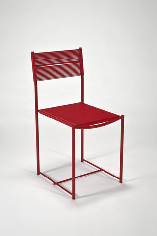 Spaghetti Side Chair in Red <br /> by Giandomenico Belotti for Alias