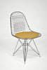 Wire Side Chair (DKR) with Seat Cushion by Charles and Ray Eames sold by the modern archive