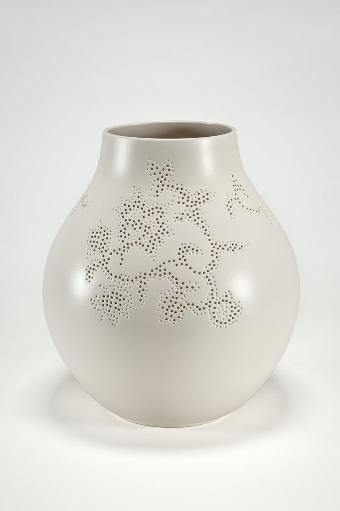 The Modern Archive Jonsberg Vase White Version By Hella