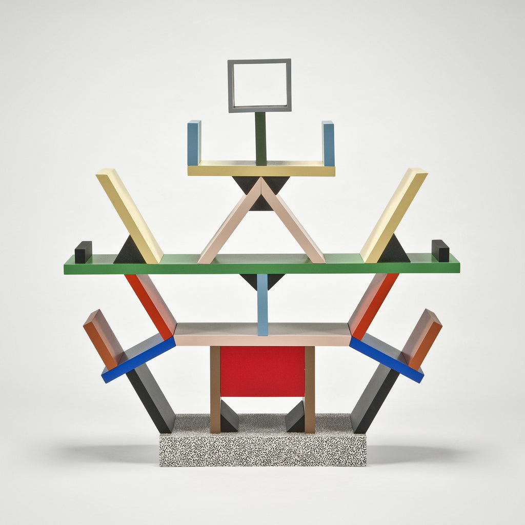 The modern archive carlton bookcase 1 4 scale miniature for Memphis sottsass