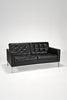 Florence Knoll Settee by Florence Knoll for Knoll Studio sold by the modern archive