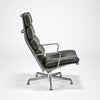 Soft Pad Executive Chair and Ottoman by Charles and Ray Eames sold by the modern archive