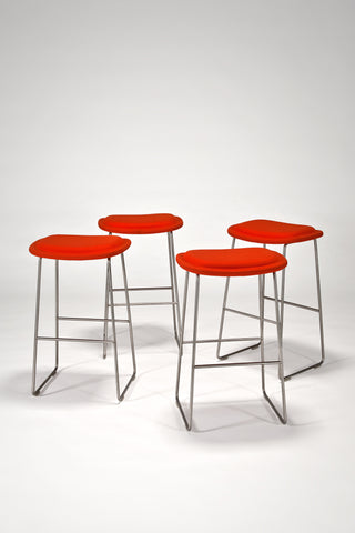 Hi Pad Stools (Set of 4) <br /> by Jasper Morrison for Cappellini
