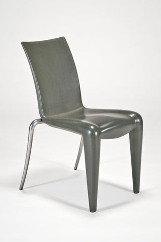 Louis 20 Side Chair in Grey<br/>by Philippe Starck for Vitra Edition