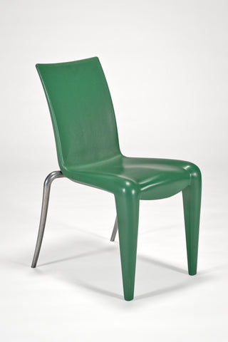 Louis 20 Side Chair (Prototype) in Green<br/>by Philippe Starck for Vitra Edition