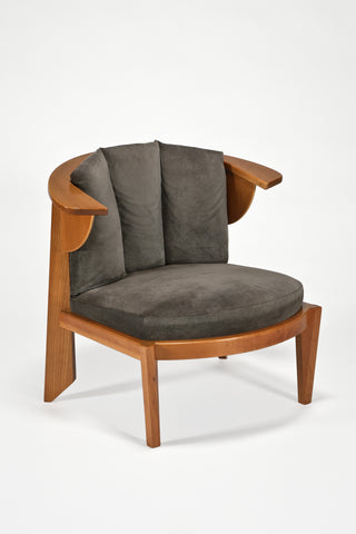 Friedman Chair <br />by Frank Lloyd Wright for Cassina