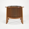 Friedman Chair and Ottoman by Frank Lloyd Wright sold by the modern archive
