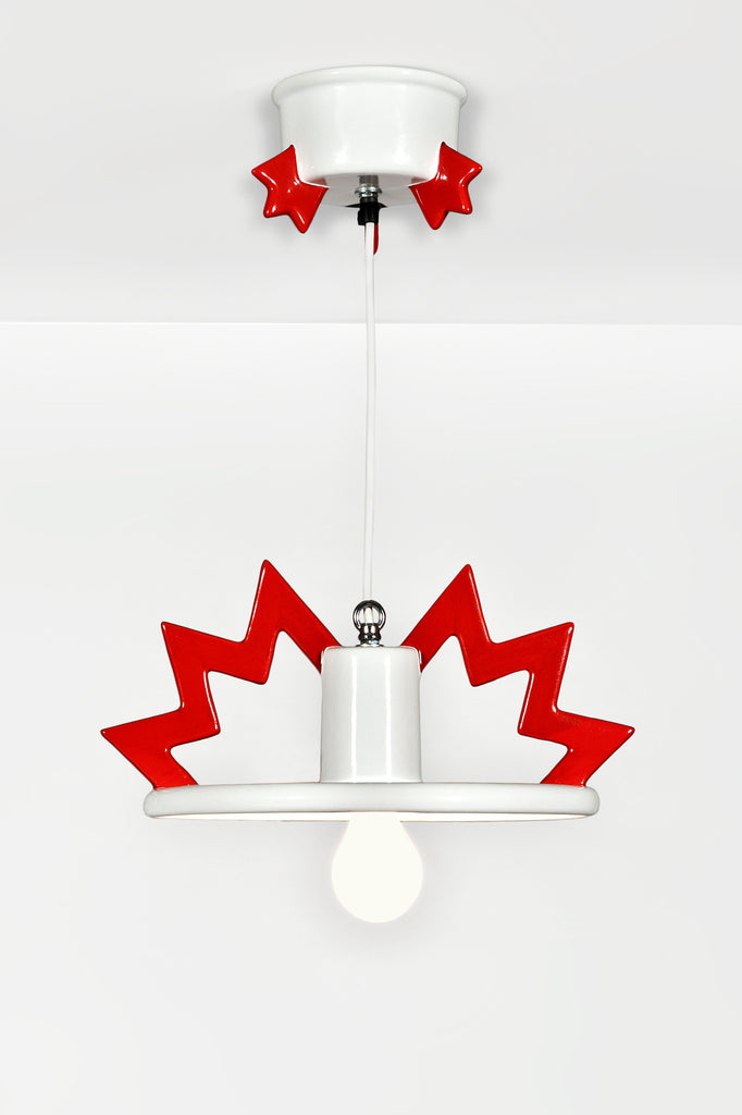 Santa Fe Lamp by Matteo Thun for Memphis sold by the modern archive