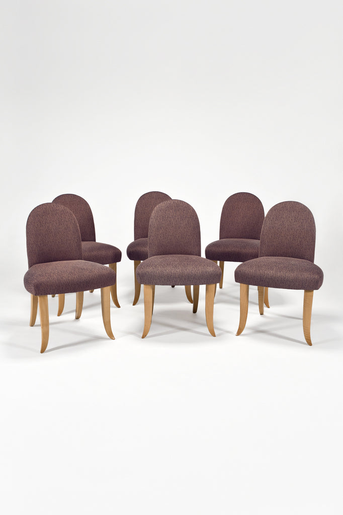 Set of 6 Castle Side Chairs <br/> by Wendell Castle
