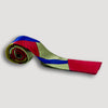 Memphis Milano Silk Tie in Red/Blue <br/> by Ettore Sottsass