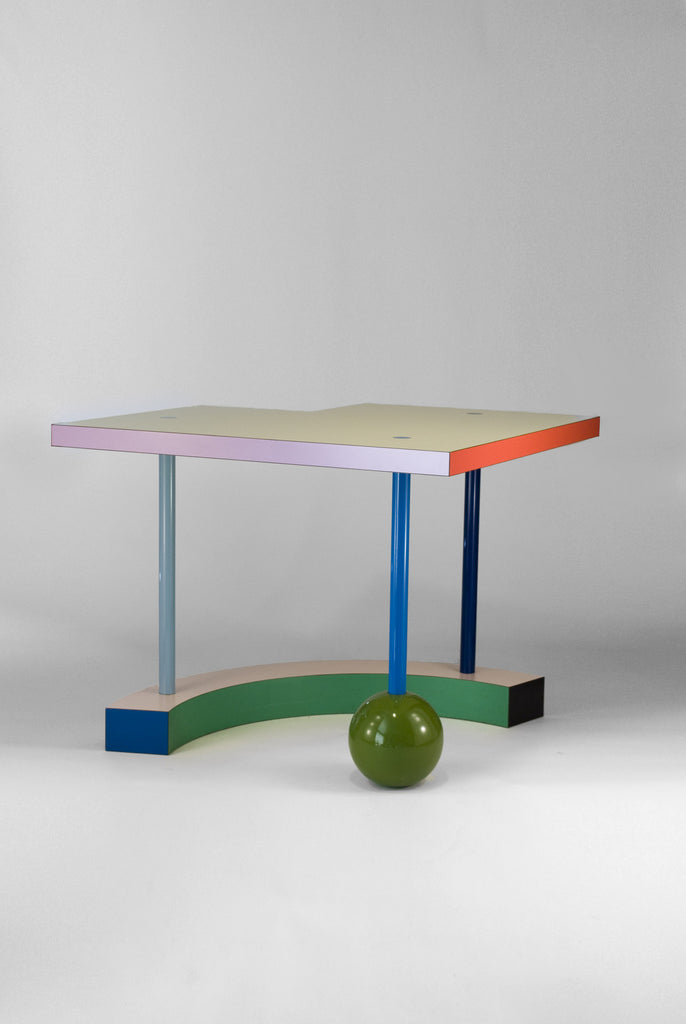 Hollywood Table by Peter Shire for Memphis