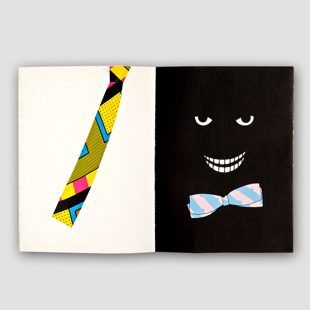 The modern archive memphis milano silk tie by ettore for Memphis sottsass
