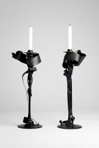 Candle Holders (Limited Edition) <br/> by Albert Paley
