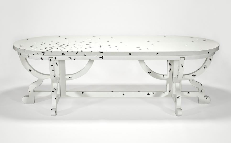 Graphic Paper Dining Table by Studio Job