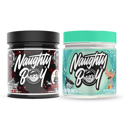 Naughty Boy Illmatic® BCAA & Bran-New® Bundle