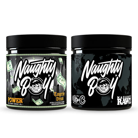 Naughty Boy Power & Vit-C Bundle