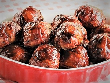Ray Ray's BBQ™ Bacon Wrapped Meatballs