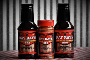 Ray Ray's BBQ™ (2) Sauce and (1) Seasoning - Ray Ray's BBQ